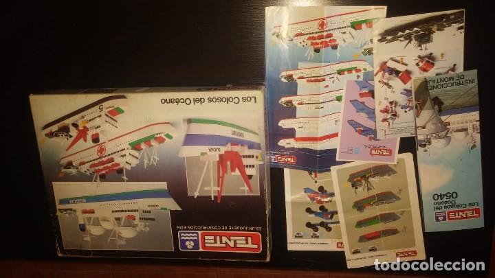 Juegos construcción - Tente: Tente Exin ref. 0540 Los Colosos del oceano y muchas piezas catalogos mas època Nancy - Foto 5 - 144338226