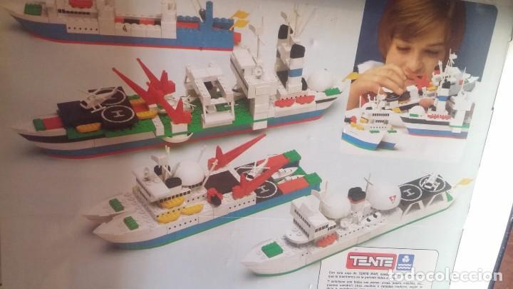 Juegos construcción - Tente: Tente Exin ref. 0540 Los Colosos del oceano y muchas piezas catalogos mas època Nancy - Foto 6 - 144338226