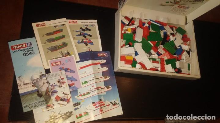 Juegos construcción - Tente: Tente Exin ref. 0540 Los Colosos del oceano y muchas piezas catalogos mas època Nancy - Foto 7 - 144338226