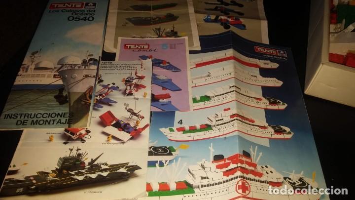 Juegos construcción - Tente: Tente Exin ref. 0540 Los Colosos del oceano y muchas piezas catalogos mas època Nancy - Foto 13 - 144338226