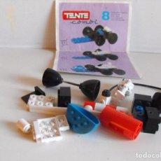Juegos construcción - Tente: TENTE COMBI 8. PERFORADOR ULTRASÓNICO. INSTRUCCIONES ORIGINALES. INCOMPLETO.. Lote 145947270