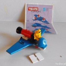 Juegos construcción - Tente: TENTE COMBI 5. PLANEADOR ESPACIAL. INSTRUCCIONES ORIGINALES. . Lote 145947442