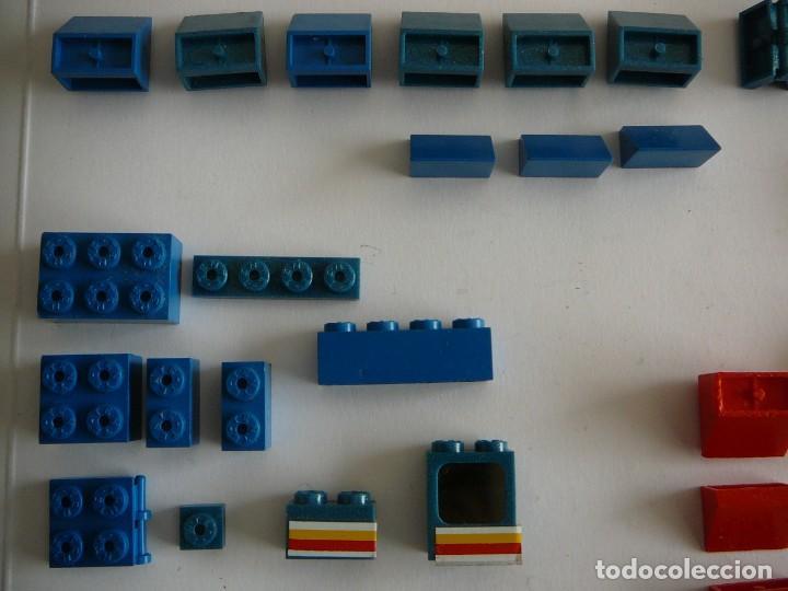 Juegos construcción - Tente: Lote de piezas Tente. Años 80 - Foto 2 - 146385846