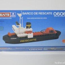 Juegos construcción - Tente: TENTE MAR BARCO DE RESCATE SANSON REF. 0606 CAJA ARGENTINA JOCSA.. Lote 146403950