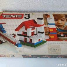 Juegos construcción - Tente: ANTIGUO TENTE 3 DE EXIN. Lote 147464470