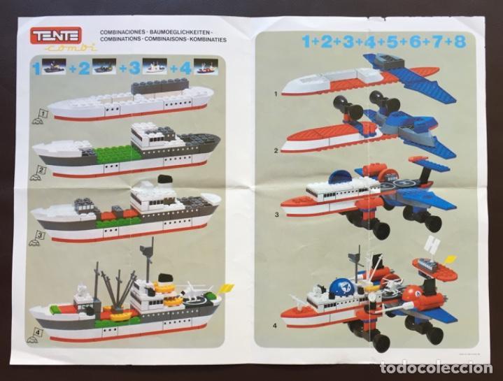 Juegos construcción - Tente: Catálogo Díptico Instrucciones Montaje TENTE COMBI - Foto 2 - 148544290