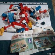 Juegos construcción - Tente: LOTE TENTE ASTRO CON CATALOGO. Lote 148645801