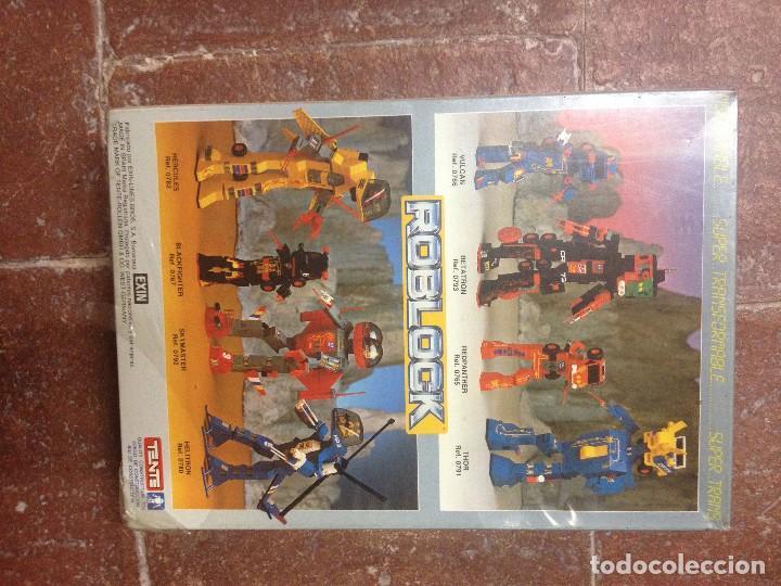 Juegos construcción - Tente: ROBLOCK TENTE Beta tron betatron Tren NUEVO Y PRECINTADO - Foto 2 - 148794982