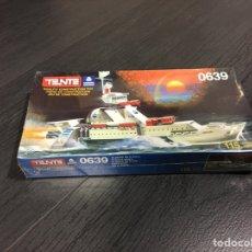 Juegos construcción - Tente: TENTE BUQUE ORION DE EXIN REF 0639,MECANNO,LEGO, BORRAS,CEFA,FEBER,. Lote 149015913