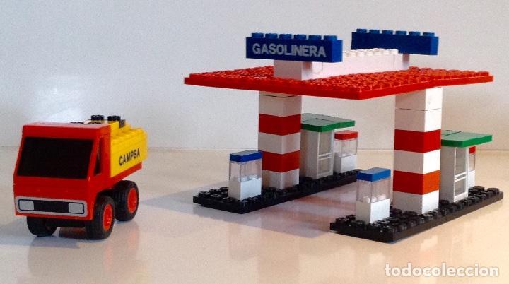 Juegos construcción - Tente: TENTE EXIN GASOLINERA REF. 0692 - Foto 3 - 149579882