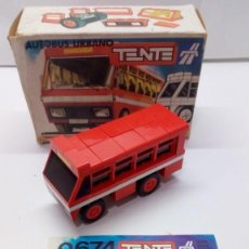 Juegos construcción - Tente: TENTE RUTA AUTOBÚS URBANO. Lote 151139590