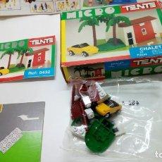 Juegos construcción - Tente: TENTE MICRO CHALET. Lote 151141658