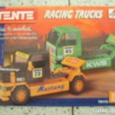 Juegos construcción - Tente: +MGRT+ TENTE RUTA RACING TRUCKS REFERENCIA 70113. Lote 151321370