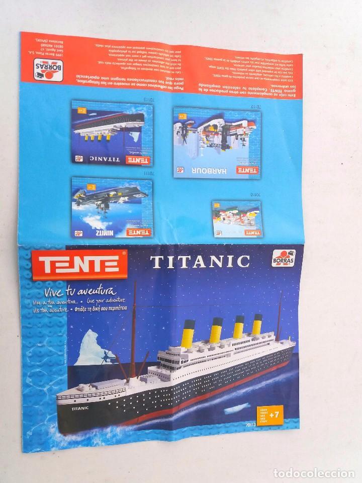 Juegos construcción - Tente: Tente Titanic Borrás - Foto 3 - 151714982