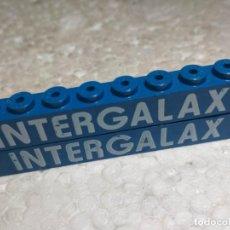 Juegos construcción - Tente: AZUL JACENA 8X1 SERIGRAFIA INTERGALAX - TENTE (2 UNIDADES). Lote 152526534