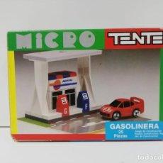 Juegos construcción - Tente: TENTE MICRO EXIN GASOLINERA AÑOS 80-90 ALMACEN. Lote 153898358