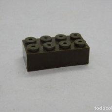 Juegos construcción - Tente: TENTE BLOQUE 4X2 VERDE ESCORPION SCORPION. Lote 157804594