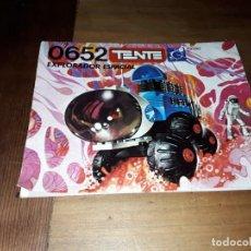 Juegos construcción - Tente: TENTE, INSTRUCCIONES ORIGINALES EXPLORADOR ESPACIAL, 0652. Lote 158947558