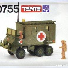 Juegos construcción - Tente: TENTE INSTRUCCIONES CAMIÓN AMBULANCIA SCORPION REF 0755 ¡¡NUEVAS!!ORIGINALES AÑOS 80 . Lote 159693702