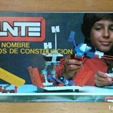Juegos construcción - Tente: CATÁLOGO DESPLEGABLE TENTE EXIN 1981. Lote 160425654
