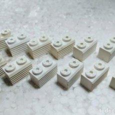 Juegos construcción - Tente: BLANCO JACENA RALLADA 2X1 - TENTE (12 UNIDADES). Lote 161705134