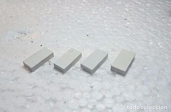 BLANCO BALDOSA 2X1 - TENTE (4 UNIDADES) (Juguetes - Construcción - Tente)