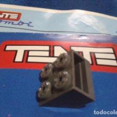 Juegos construcción - Tente: TENTE ( CUÑA CON VENTANA 2X2 ) COLOR GRIS NAVIO . Lote 162521198