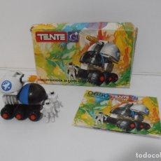 Juegos construcción - Tente: TENTE ASTRO, DESINTEGRADOR DE RAYOS LASER, EXIN REF 0650, COMPLETO, CAJA E INSTRUCCIONES. Lote 164194366