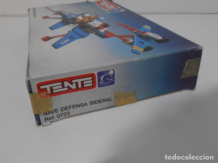 Juegos construcción - Tente: TENTE ASTRO, NUEVA DEFENSA SIDERAL, EXIN REF 0722, COMPLETO, CAJA E INSTRUCCIONES - Foto 13 - 164196310