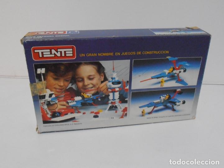 Juegos construcción - Tente: TENTE ASTRO, NUEVA DEFENSA SIDERAL, EXIN REF 0722, COMPLETO, CAJA E INSTRUCCIONES - Foto 15 - 164196310