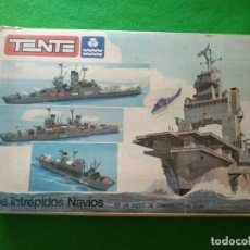 Juegos construcción - Tente: TENTE EXIN LOS INTRÉPIDOS NAVIOS . Lote 166418546