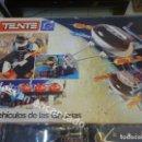 Juegos construcción - Tente: TENTE. CAJA LOS VEHICULOSDE LAS GALAXIAS. VER FOTOS. Lote 168267180