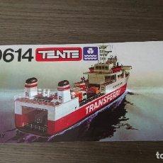 Juegos construcción - Tente: TENTE 0614 EGEO TRANSFERRY INSTRUCCIONES. Lote 169463084