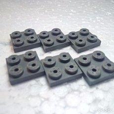 Jogos construção - Tente: GRIS PLACA 2X2 - TENTE (6 UNIDADES). Lote 212605460