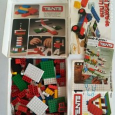 Juegos construcción - Tente: TENTE EXIN REF. 0401 CAJA 1 + 180 PIEZAS. Lote 170313624