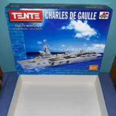 Juegos construcción - Tente: CAJA VACIA CHARLES DE GAULLE DE TENTE BORRAS ORIGINAL EN MUY BUEN ESTADO VER FOTOS Y DESCRIPCION. Lote 179139922