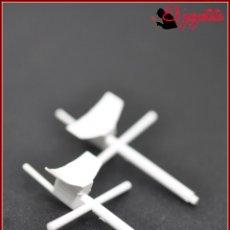 Juegos construcción - Tente: TENTE - MASTIL RADAR BLANCO X2. Lote 170976040