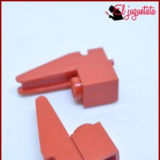 Juegos construcción - Tente: TENTE - BASE GRUA ROJO X2. Lote 171160019
