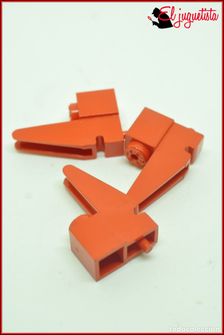 TENTE - BASE GRUA ROJO X3 (Juguetes - Construcción - Tente)