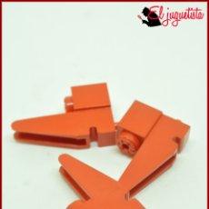Juegos construcción - Tente: TENTE - BASE GRUA ROJO X3. Lote 171160078