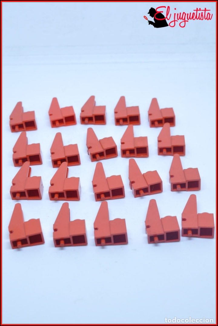 TENTE - BASE GRUA ROJO X20 (Juguetes - Construcción - Tente)