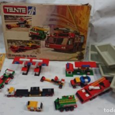 Juegos construcción - Tente: TENTE - CAJA TENTE EL MUNDO DE LA RUTA REFERENCIA 0553. Lote 171239634