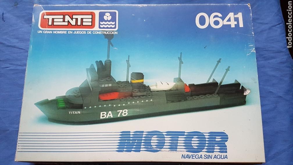 CAJA TENTE BARCO 0641 (Juguetes - Construcción - Tente)