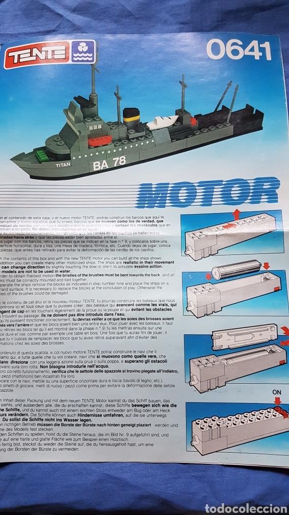 INSTRUCCIONES MONTAJE BARCO TENTE 0641 (Juguetes - Construcción - Tente)