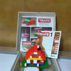 Juegos construcción - Tente: CASA CHALET DE TENTE CON SU CAJA (ORIGINAL). Lote 171772670