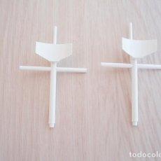 Juegos construcción - Tente: TENTE MASTIL CON RADAR. COLOR BLANCO. Lote 171794058