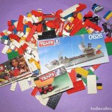Juegos construcción - Tente: TENTE 0626 MUCHAS PIEZAS Y CATALOGOS. Lote 172078198