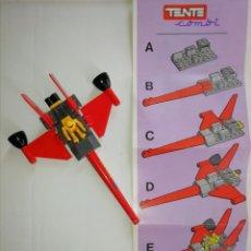 Juegos construcción - Tente: TENTE COMBI (EXIN). POLICÍA GALÁCTICA. Lote 172113947