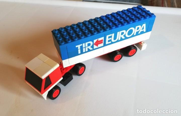 TENTE RUTA (EXIN). REF 683 CAMIÓN EUROPA TIR (Juguetes - Construcción - Tente)
