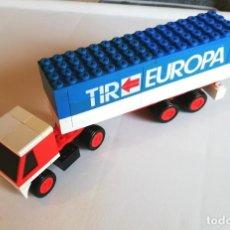 Juegos construcción - Tente: TENTE RUTA (EXIN). REF 683 CAMIÓN EUROPA TIR. Lote 172117258